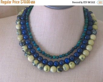 SALE Earth and Sky necklace