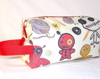 Voodoo Knitters Project Bag - Premium Fabric