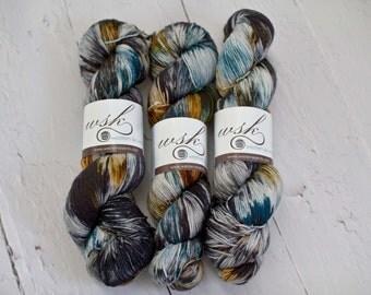 Aspen Sock yarn with nylon 'sluice'