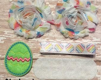 DIY Headband Kit- Easter Headband Kit- Makes 1 headband, Do it Yourself- Feltie Headband- Baby Headband Kit- DIY Supplies