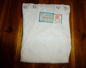 Vintage 1950s Cloth Baby Diapers NIP Size 1-1/2