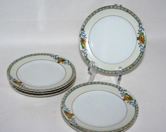 Collectible Meito China, Made in Japan. Meito 1579, six bread and butter plates