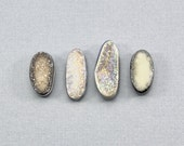 Druzy Cabochons, druzy stone, non drilled druzy,  sparkly drusy, natural stone, oval druzy stones, plated druzy, natural duzy, geode crystal