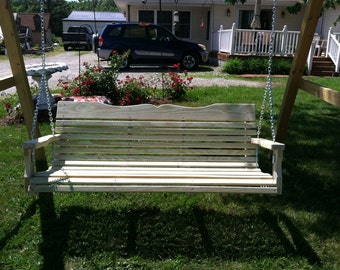 Outdoor Porch Swing 4 Feet wide