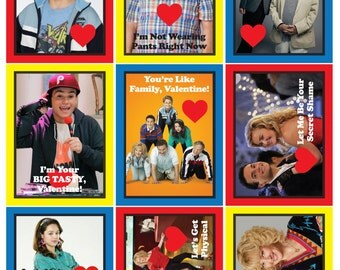 The Goldbergs Valentines Day Cards, Download and Print!
