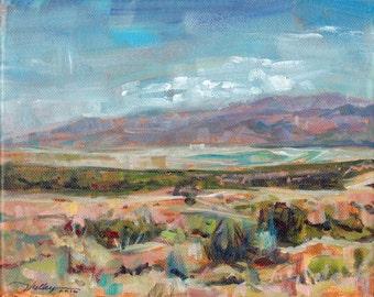 Landscape Utah Desert Painting Original Art