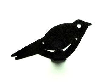 Bird Metal Art Wall Hook - Free USA Shipping