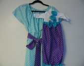 Boutique Aqua Blue Maternity and Delivery Gown Set sizes s-xl comes with corrinating matching Infant Gown Set great for coming home outfit