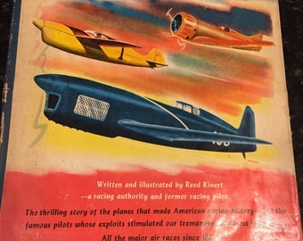 AMERICAN RACING PLANES Vintage Book of Reference 1952 First Edition at A Vintage Revolution