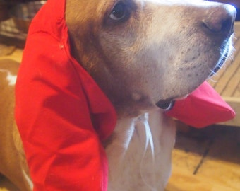 Dog Trapper hat with snood