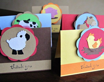 Barnyard Party Favor Bags and Toppers - Reserved for LEAHWHITLEY