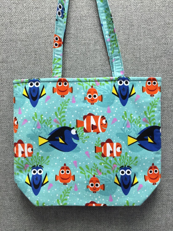 preschool book bags finding dory tote bag book bag preschool tote project bag 258