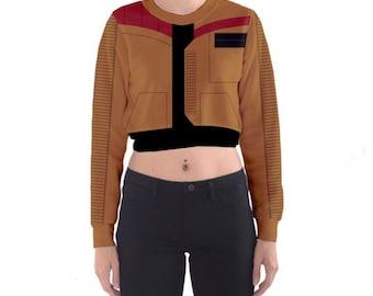 Jacket of Love Cropped Sweatshirt