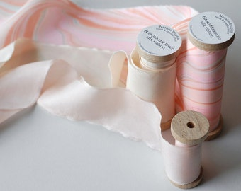 Silk Ribbon Suite in Spring Pinks