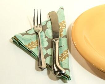 Cloth Napkins - Fabric Napkins - Holiday - Hostess Gift - set of 4