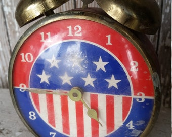 Vintage Americana Alarm Clock