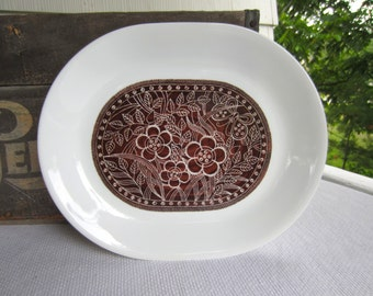 Vintage Batik Serving Platter by Corelle