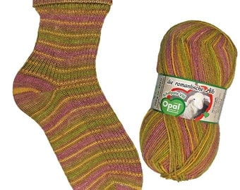 Opal Sock Yarn, 100g/465yd, Schafpate VIII, #9203