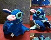 Lilo and Stitch inspired plush bat toy- bat plush - bat toy- plushie - lelo and stitch - stitch plushie - stitch