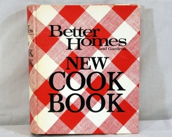 Vintage Better Homes and Gardens New Cook Book, 1976