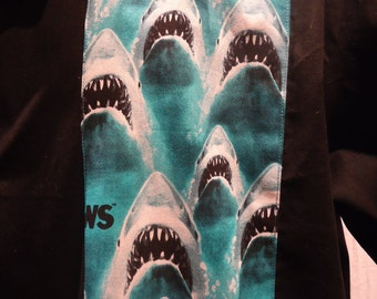Shark! Jaws Panel Bowling Shirt, Ready to Ship