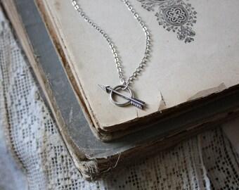 Arrow Necklace - Warrior Necklace - Bohemian Necklace