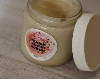 SLICE of HEAVEN Whipped Body Polish Sugar Scrub- Gift for Her - Vegan Friendly - Easter Gift - Lemon Poundcake - Cruelty Free  Easter Spring
