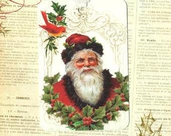 Christmas, Santa Tags, Christmas Gift Tags, Vintage Santa, Christmas Tags