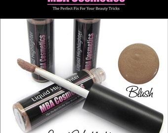 Liquid Shimmer-Highlighter Blush