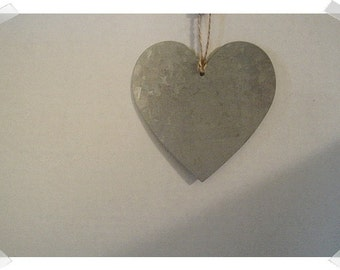 Metal Heart Ornament/Single OR Set of 2/Craft Supplies*