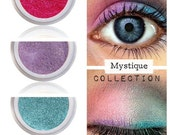 Rainbow Eyeshadow Kit Palette | MYSTIQUE | Mix - Match - Layer | Natural Mineral Eye Colors | Natural Eco Pure Organic MAC Cosmetics