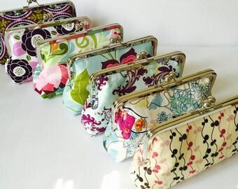 Bridesmaid Clutch Purses  by Cutiegirlie - Design Your Own - You Choose Fabrics