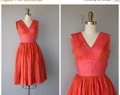 25% OFF SALE... 1950s Party Dress | 50s Cocktail Dress | Vintage 50s Dress | 1950s Dress | 1950s Anne Fogarty Dress | 50s Silk Dress