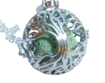YOur perSOnal STYlish Essential oil necklace diffuser Steampunk Fairy tree  d2 0