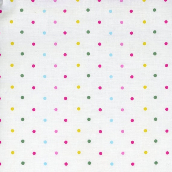 polka dot fabric nursery pastel pink small dots galaxy
