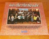 Original We Are The World Vinyl Album