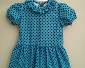 Sally Brown blue toddler size