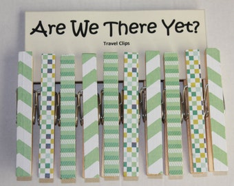 Are We There Yet? Travel Clips **FREE SHIPPING**
