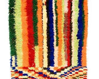 Electric Ladyland - vintage berber boucherouite rug