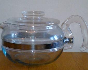 Pyrex Glass Teapot Stovetop