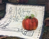 RESERVED FOR BARB ~ A Needle Felted Pumpkin For Fun Fall Decor