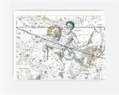 Star Sign Astrological Birthday Greeting Card - Aquarius:  Jan 20 - Feb 18