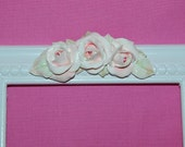 Rose Swag Furniture Applique   Romatic Cottage   Shabby Chic Style  Picture Frame Accent