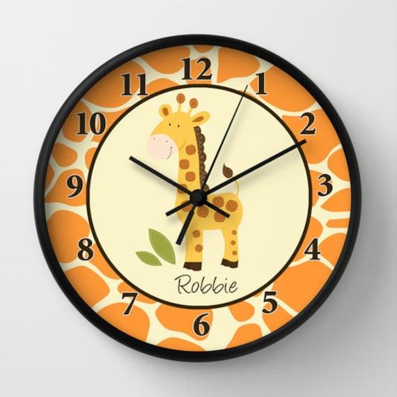 Giraffe Jungle Orange / Yellow / Neutral / Giraffe Print ...