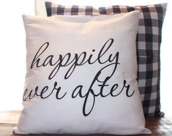 Happy Ending Pillow