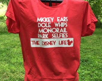 Life shirt, Disney  life inspired shirt.