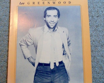Set of 2 Lee Greenwood/Sheet Music/Don't Underestimate my love for you/I don't mind the thorns(if you're the rose)/Warner Brothers/1980's