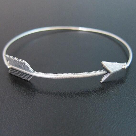 items similar to silver arrow bracelet arrow jewelry