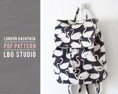 London Backpack - PDF Sewing Pattern