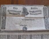 Confederate States 1864 100 Bond